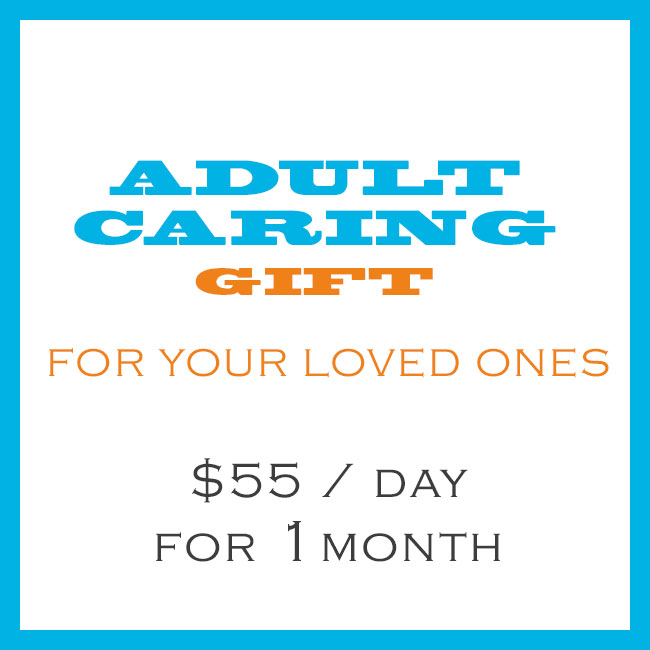 Adult Caring Gift 55 Per Day For 1 Month