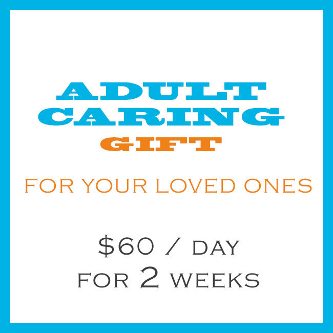 Adult Caring Gift 60 Per Day For 2 Weeks
